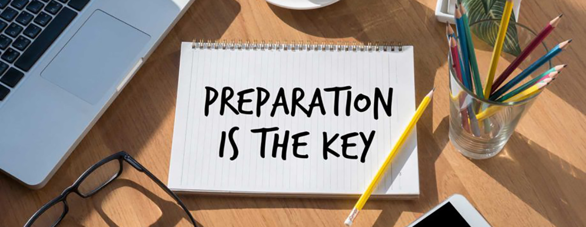 Are You Planning or Preparing?
