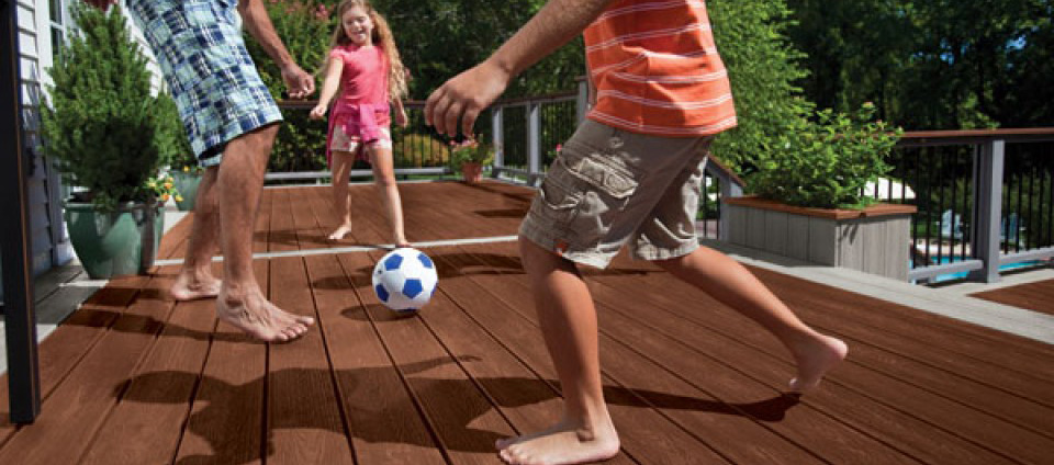 Resurface your deck with Trex decking