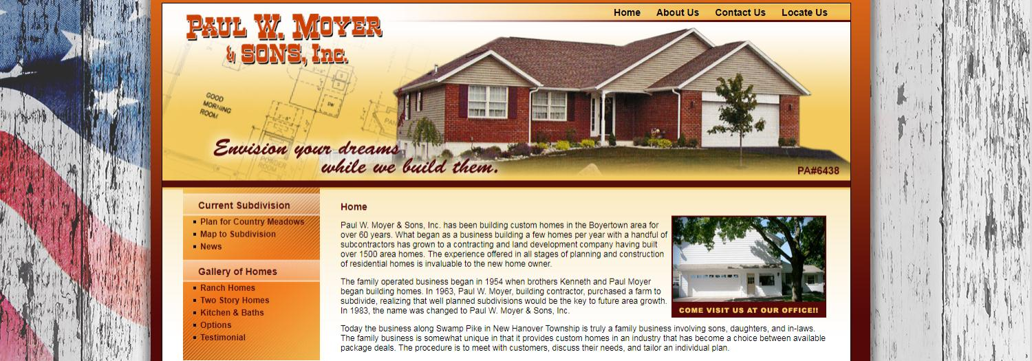 Moyer, Paul W & Sons Inc