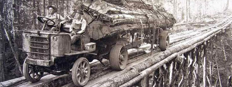 Early 1900s Lumber