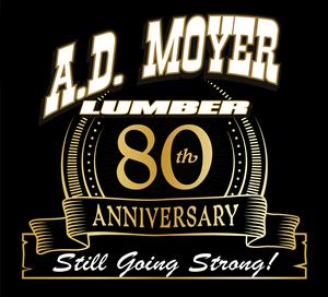 A.D. is 80! A.D. Moyer Lumber Celebrates 80th Anniversary