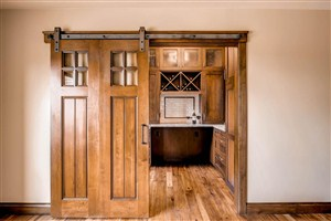 Get on Track - Add Sliding Barn Doors To Interior Design