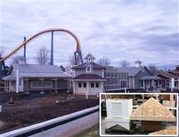 : Custom Cupolas installed at Dorney Park in Allentown, PA