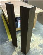 : Custom Trex Post Wraps made by our Millwork team!