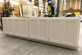: Completely PVC cabinet boxes and doors